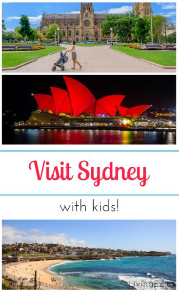 visit sydney with kids