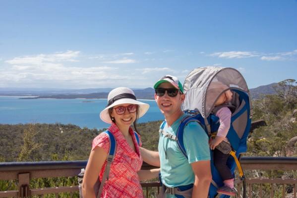 Coles Bay overlook