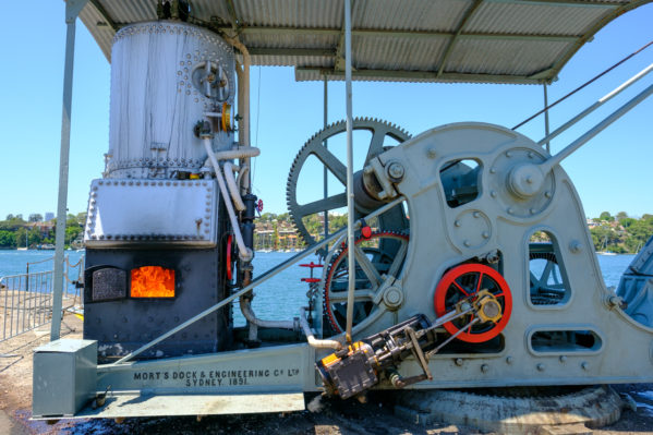 things to do on cockatoo island - Steam Crane Furnace